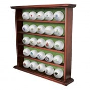 25 WOODEN BALL DISPLAY